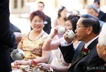 Tea Ceremony Photos / A collection of tea ceremony photos to give couples ideas and inspiration on how to have their traditional tea ceremony and what door games they can play to test the groom and his groomsmen.