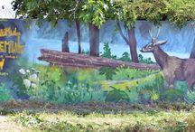 graffitti  murales