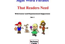 sight words / by Venus Downs