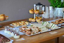 High tea en toetjes / High tea idee