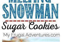 Snowman Crafts Fun and Edible