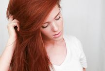 Natural red shades / I just love red hair.