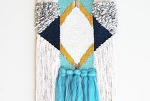 Weaving wall hangings diy and inspiration