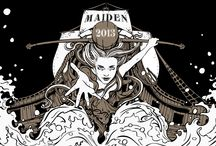 Siren - Maiden & Odyssey Packaging / Here are the explorations for the designs of the limited edition ales - Maiden and Odyssey