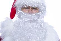 Barbes et perruques de Père Noël
