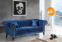 Sofa og sovesofa til ditt hjem. / Sofa sovesofa stue soverom. Besøk vår nettbutikk www.mirame.no