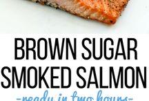 Salmon lines.. smoked, row, bakked ect