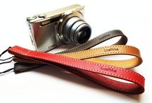 Lusikka handy camera strap / Lusikka leather handy camera strap
