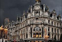 Antwerpen / Antwerpende stad waar ik lang geleden gewoond heb  / by Nelly Geuvels