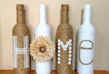 Wine Bottles Decor