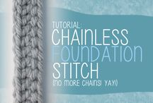Chainless Foundation Stitch