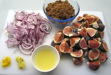 FOOD - Fig Recipes / My fig tree is productive, though I lose most of my figs to the squirrels.  My neighbor, Lorraine, shared her 2'nd crop figs with me this fall and we had a blast making some of these recipes.  I can't wait to try more of them! / by Sylvia Munson