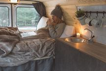 VAN DREAMS / Living in total freedom. Intertwined with nature a life filled with adventures.