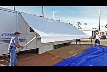 How to replace your own rv awnings and slide toppers