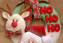 Natal moldes/Ideias