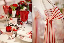 Wedding trends - cherry red