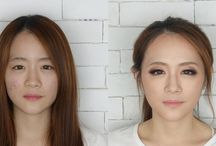 Before & After / makeup