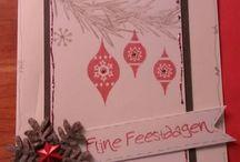 DIY - kaarten - zelf gemaakt, kerst