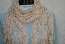 10% Off Fashion knits / Handknitted Scarves,Shawls & more / by designbyelena
