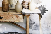Rustic Ceramics / A collection of rustic textures. / by Jessica Farber