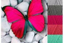 kleurschema's stylecraft special dk & scheepjes colourcrafter