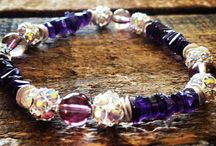 Arm Candy / The Power of Healing African Amethyst Arm Candy Bracelet