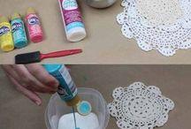 Ideias aplicação crochet