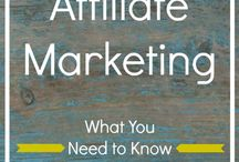 Affiliate Marketing / This wall covers ideas around the big topic affiliate marketing