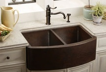 The Kitchen Sink / Featuring sinks + faucets from our favorite sellers!