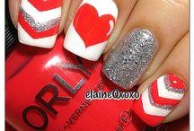 Valentines Nail art designs