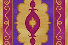 Magic carpet Alladin