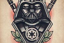 Darth Vader tattoos