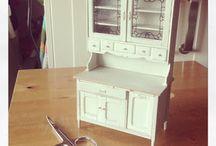 muebles miniatura para casita