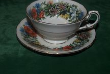 china cups and figrines / tea cups and other porcelain / by Wanda Fontaine