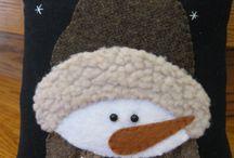 Cara de cojon niño de nieve