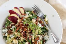 Salads / Whether you are looking for a salad to serve at a bbq or just to make for lunch or dinner, this board has the best of the best when it comes to salad recipes! Here are salads that use bold flavored cheeses and ingredients to make it as delicious as it is unforgettable!