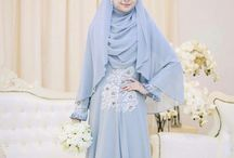 Muslimah wedding gown