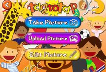Tag to Tap inspiration   / Ideas for using Tag to Tap. Tag to Tap is a vocabulary iPad App for young children. Personal and fun!