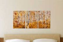 Wall Art Collage Ideas / Canvas, or Print Photo Layouts for any Wall Size