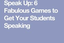 Speak Up: 6 Games to get your Ss Speaking