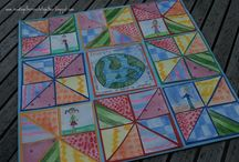 Homeschooling Activities with Barn Quilts