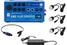 The Ilios Solar Generator Off-Grid Power Kit / The Ilios Solar Generator Kit is the perfect emergency power solution. With lithium ion battery technology, it provides 1100 watt-hours of electricity, while weighing in at only 20 pounds! https://survivalfoodnow.com/collections/solar-energy-lights