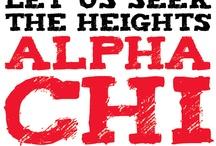 Alpha Chi Omega / Haley wedding  / by Rhonda Ayers