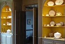 Interiors: Built Ins / by Jeanette Morrow