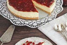 tarta queso con mermelada de fresas