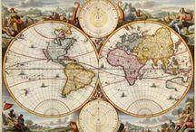 Mapas Fantásticos / Mapas originales, de literatura e imaginación