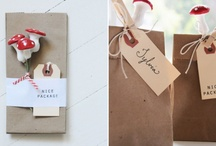 wrapping's / by Emma Tandy Nicholls