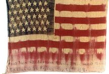 Stars & Stripes / variations on Old Glory and other American flags including vintage battle flags / by Double D Ranch