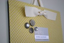 Crafts: Fabric & Buttons / by Gina Bergin
