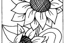 Embroidery - Large Flowers / Embroidery